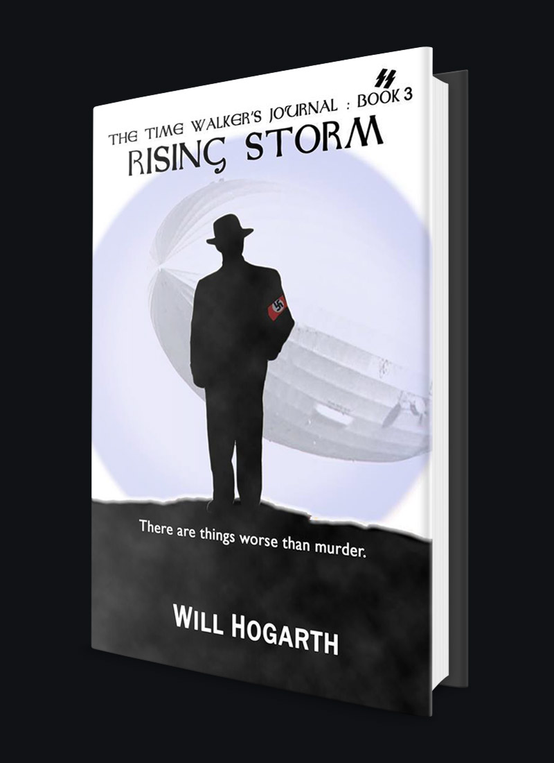 Rising Storm, Nazis, Spys and traitors, Young Adult Fantasy Thriller, Time Travel, WW2, WWII